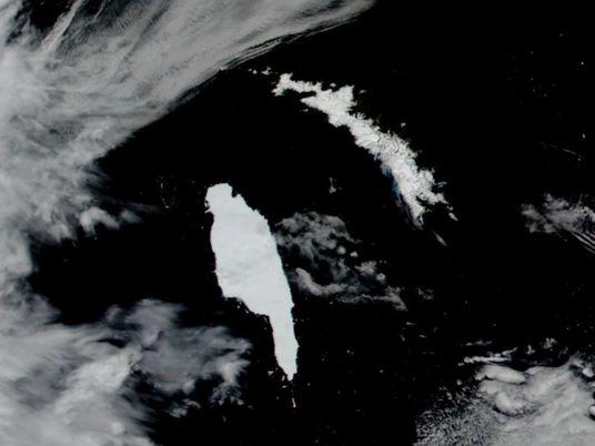 Maior iceberg do mundo está em rota de colisão com ilha da Geórgia do Sul e ...