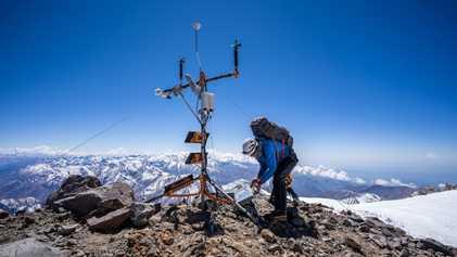Estação meteorológica mais alta do Hemisfério Sul ajudará cientistas a encontrar respostas sobre o clima