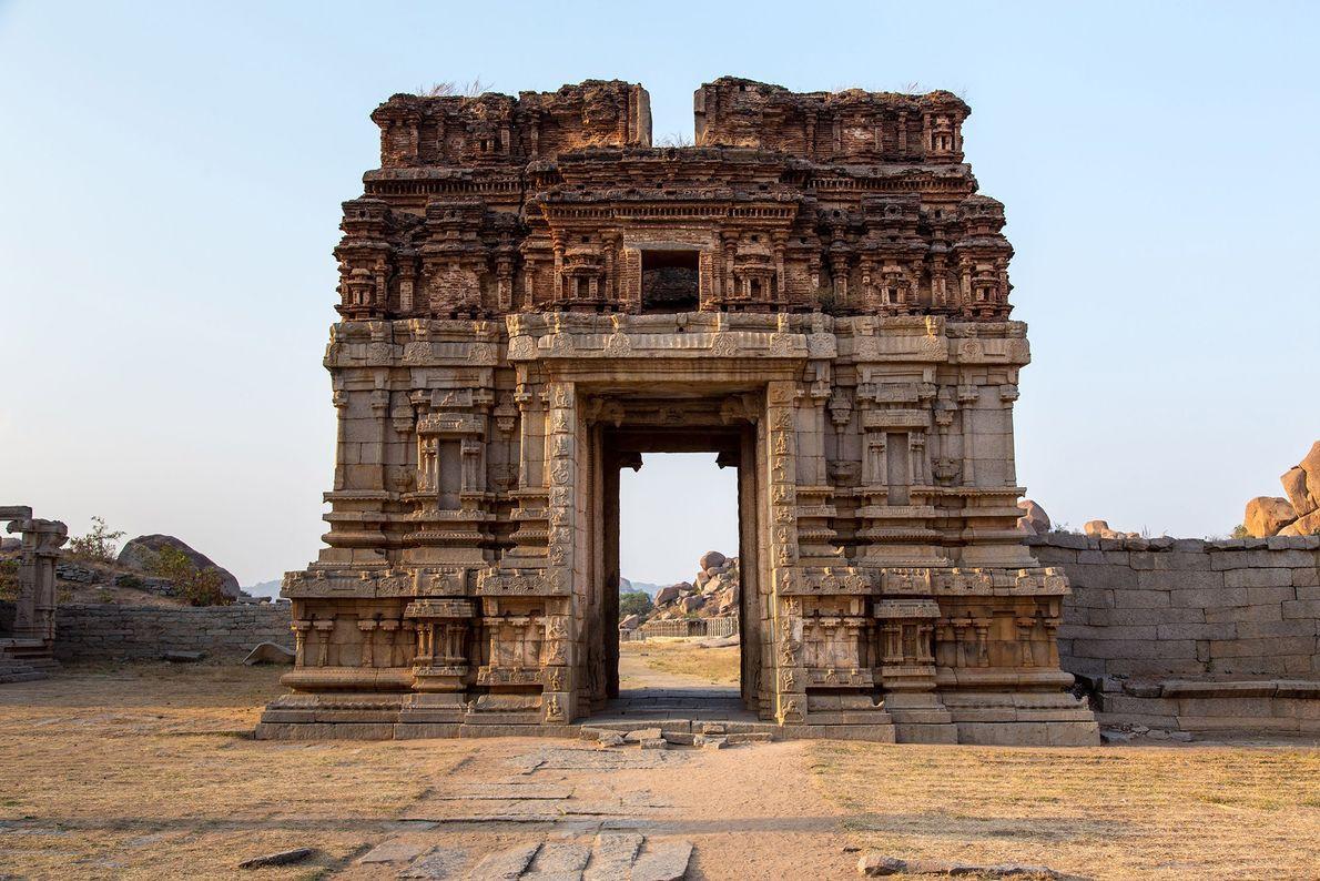 Monuments at Hampi