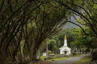 Igreja de Siloama hoje. Conhecida como Igreja da Fonte da Cura, foi construída em 1871 em ...