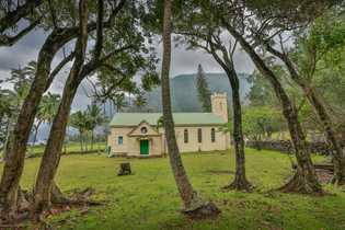 Igreja da Santa Filomena, construída em 1872 perto da Igreja de Siloama,  nos dias de hoje.