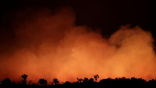 Nas redondezas dos incêndios da Amazônia, moradores estão doentes, preocupados e com raiva