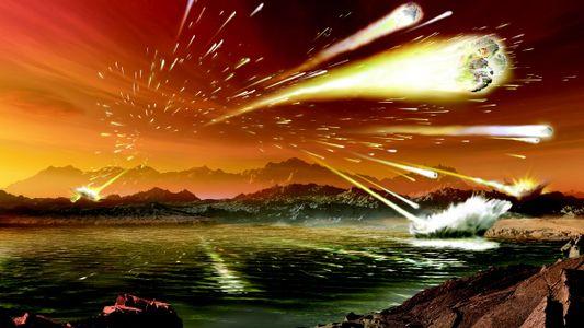Terra primitiva sofreu com pico de impactos de meteoros