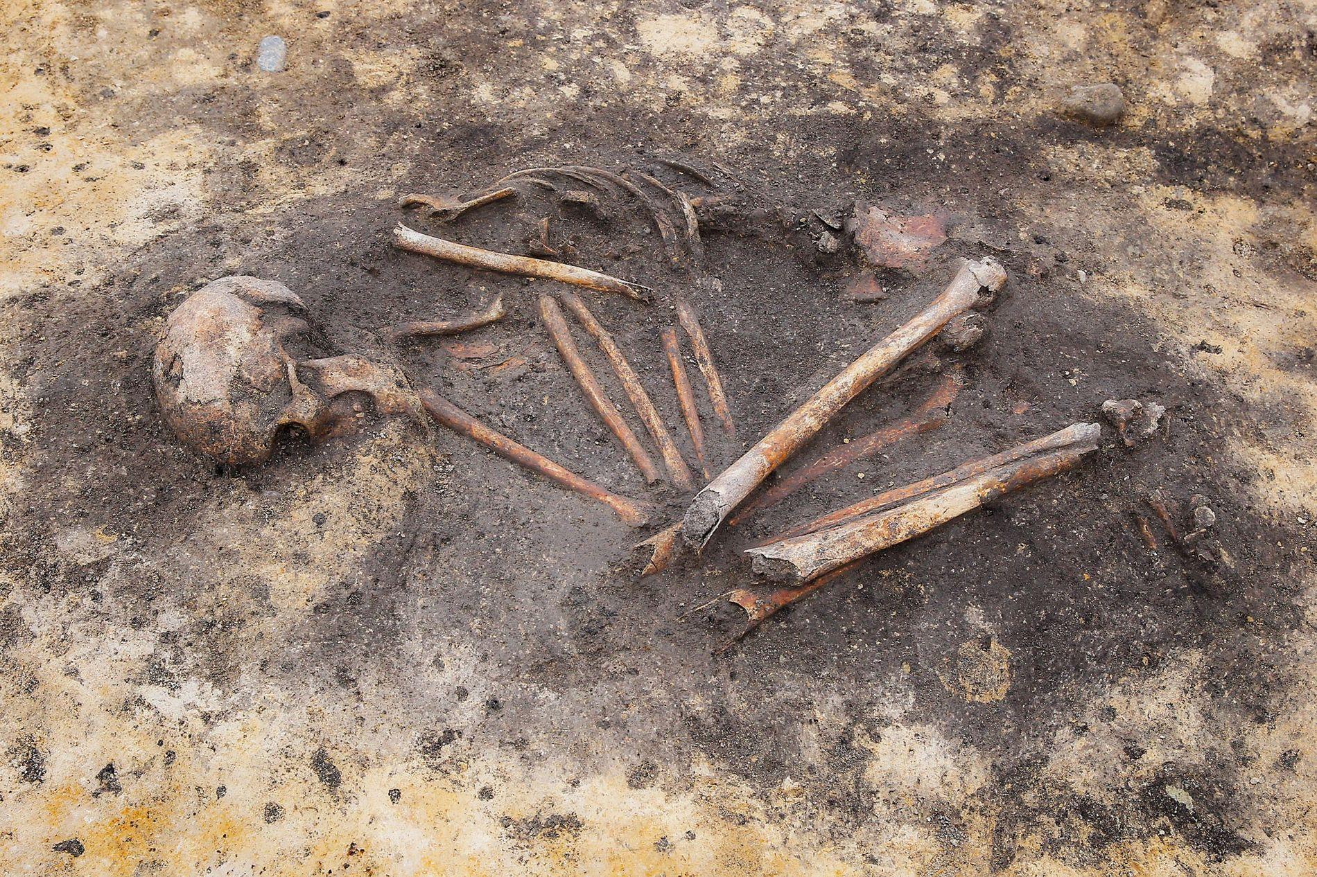 """Enquanto os arqueólogos começam a notar sinais de desigualdade social em sepulturas """"com"""" e """"sem objetos"""" na Idade do Bronze, novas análises científicas ajudam a destacar as diferenças genéticas e geográficas em populações de uma mesma propriedade."""