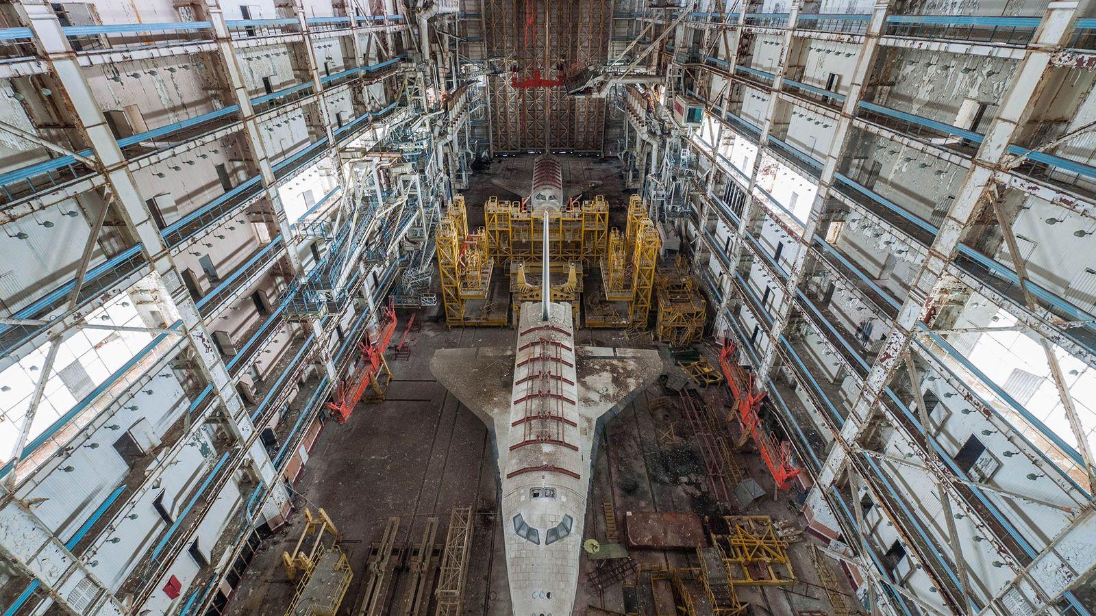 Nave espacial soviética Buran