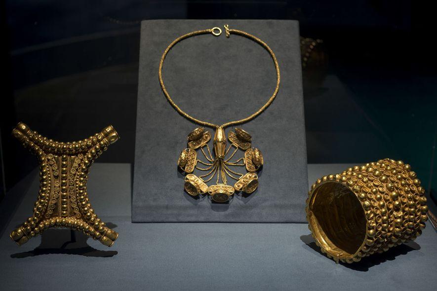 Revelada origem de tesouro espanhol misterioso de 2,7 mil anos atrás