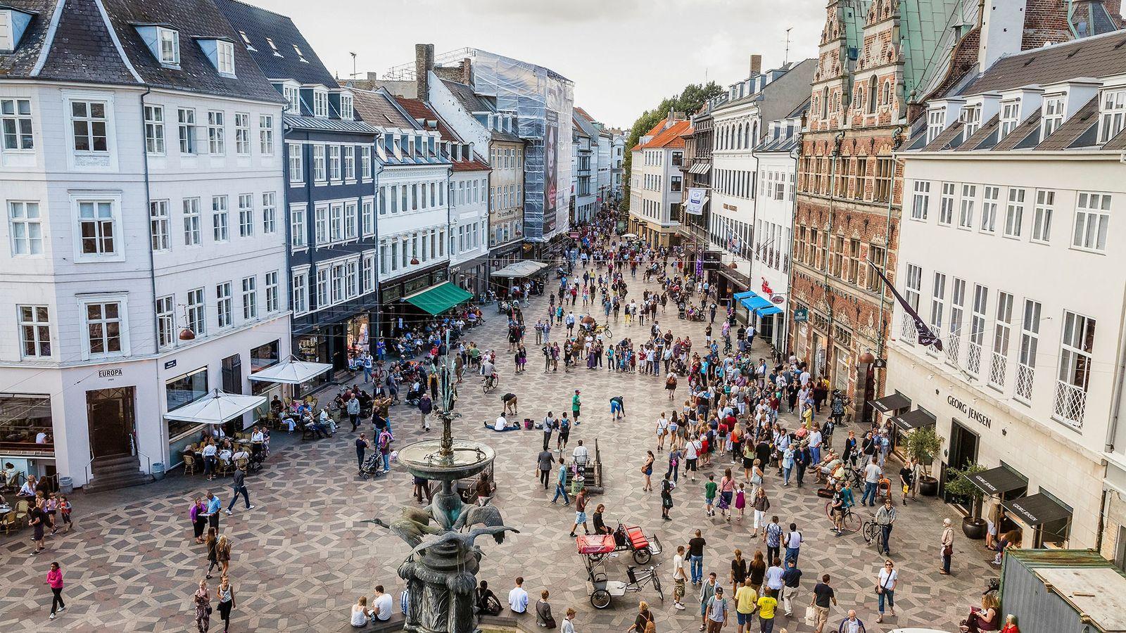 Consumidores de Copenhague e de outras regiões da Dinamarca têm uma perspectiva diferente em relação às ...