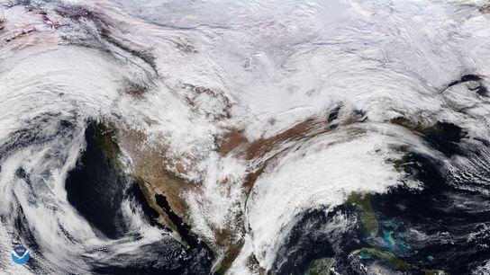 Com apenas um dia de observações meteorológicas globais, os cientistas já conseguem detectar um sinal das ...