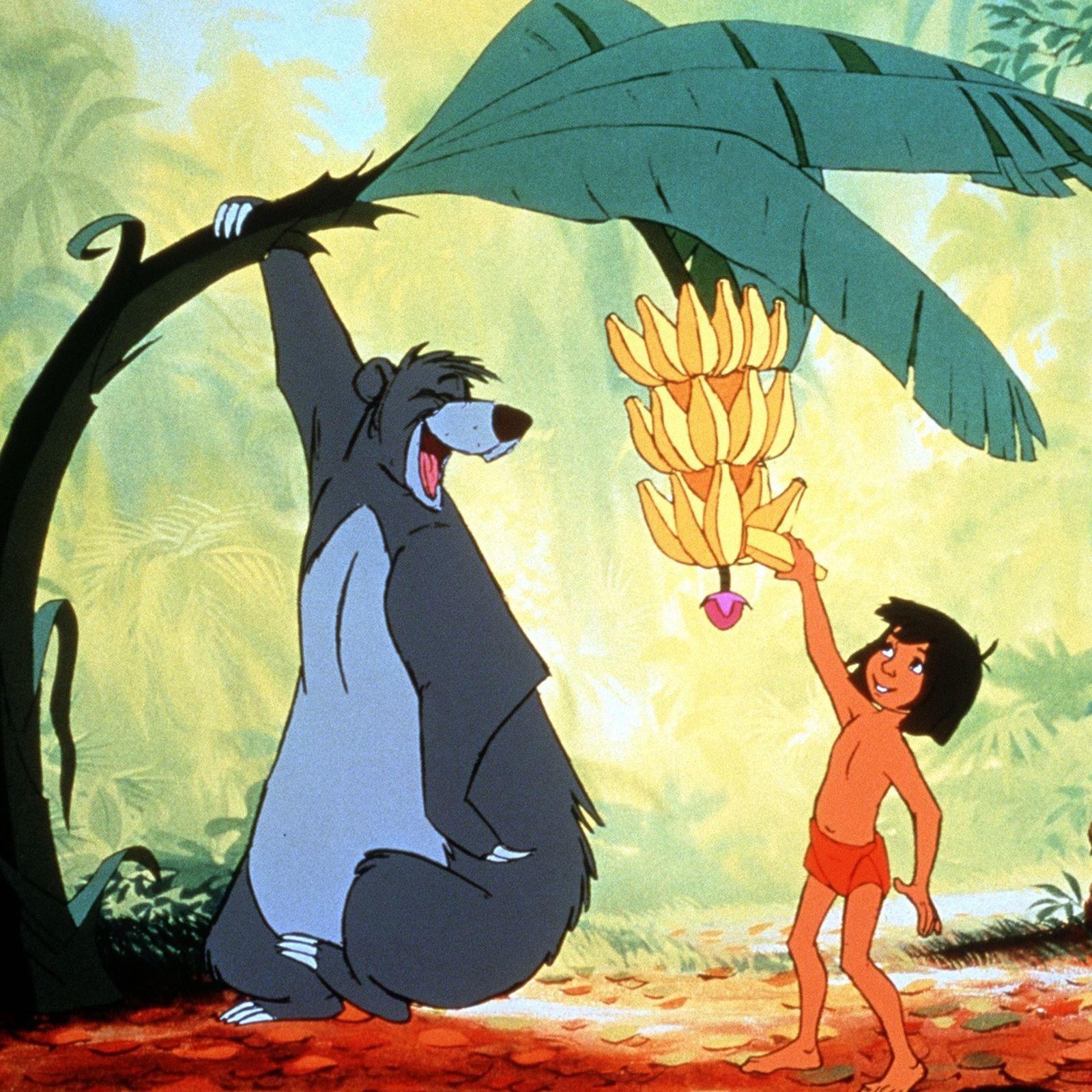 No longa-metragem animado da Disney de 1967, o urso Balu adorava frutas, mel e formigas.