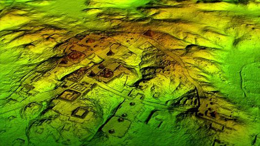 Megalópole maia é revelada sob floresta da Guatemala por varredura de laser