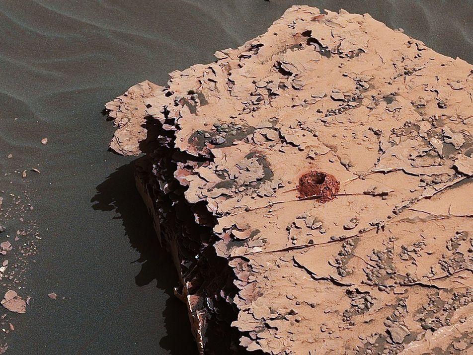 Vestígios de vida encontrados em solo de Marte