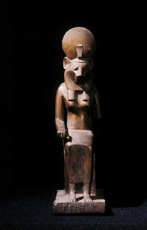 As múmias de leão podem estar associadas ao culto a Sacmis, a deusa guerreira egípcia com ...