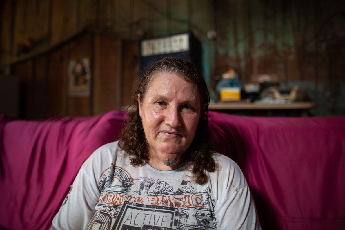 Maria Izabel da Silva mora na vila Guariba, o povoado mais próximo das áreas seringais na ...