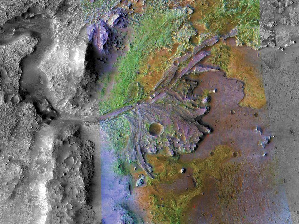 Marte pode ter tido rios por mais tempo do que se imaginava
