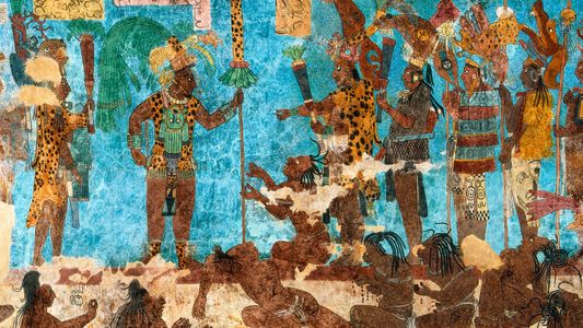 Ruínas de guerra maia reveladas com o uso de laser