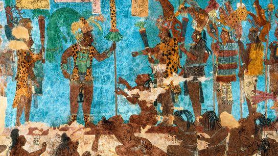 Longe de serem os agricultores e sacerdotes pacíficos que pensávamos que fossem, os maias travavam guerras ...