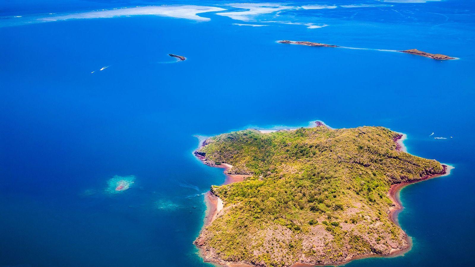 Desde maio de 2018, um estranho enxame sísmico se propaga ao redor de Mayotte, que inclui ...