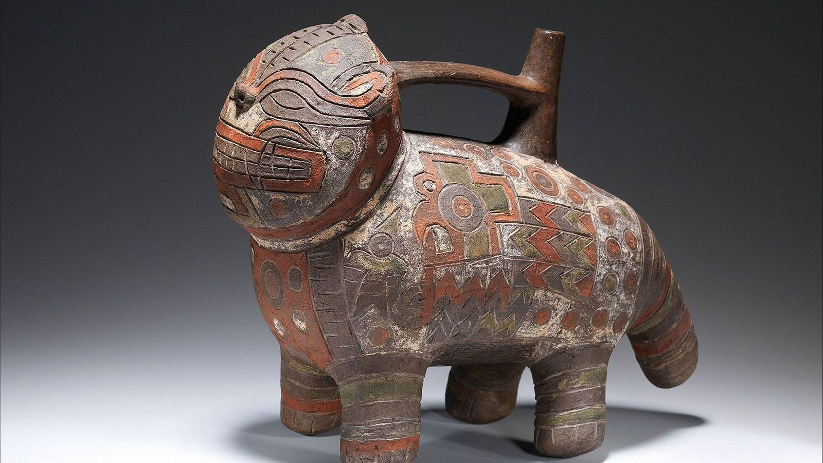 As cerâmicas produzidas pela cultura Paracas do Peru (900-100 a.C.) são admiradas hoje pelas cores e ...