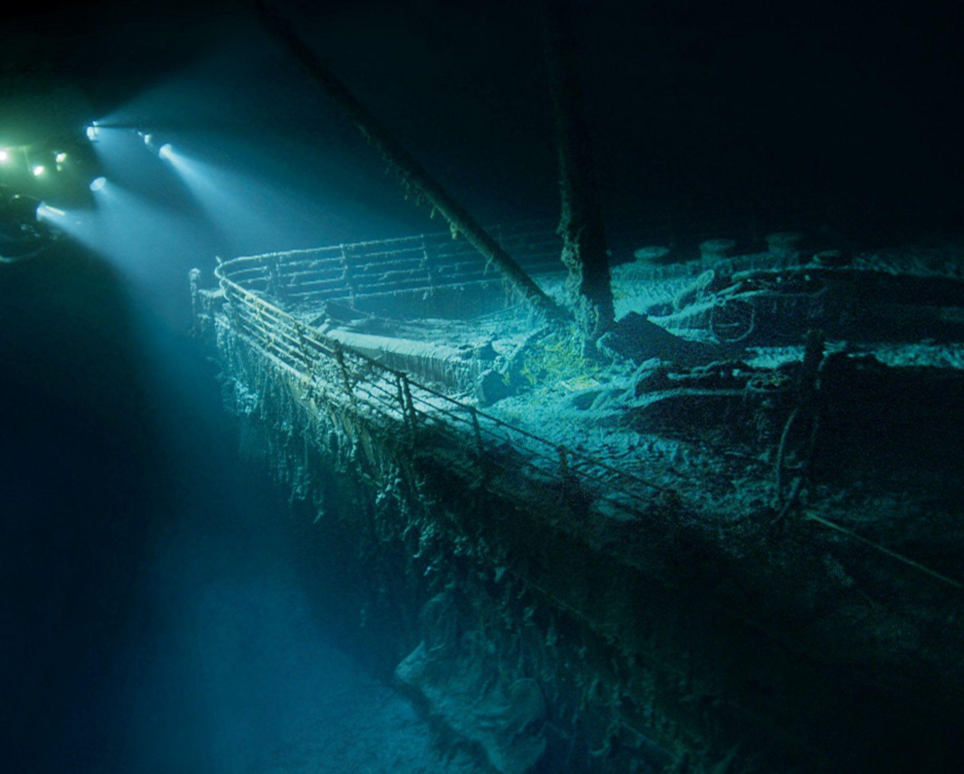 Titanic proa
