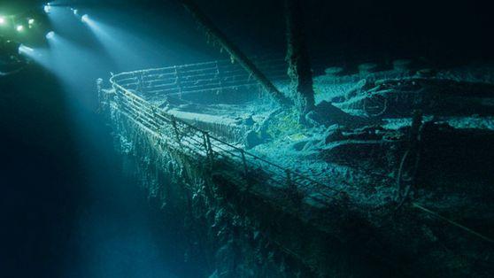 Fotos revelam detalhes do Titanic no fundo do mar