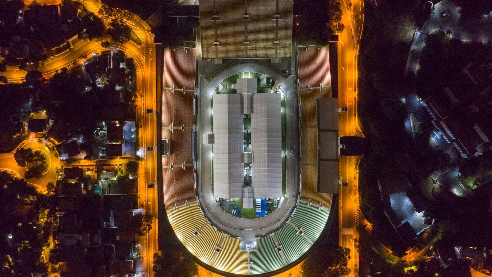 ESTÁDIO PACAEMBU, SÃO PAULO | O estádio do Pacaembu, em São Paulo, foi convertido em hospital de ...