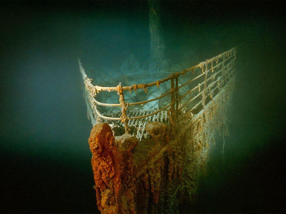 Artefatos do Titanic são disputados em cabo-de-guerra internacional
