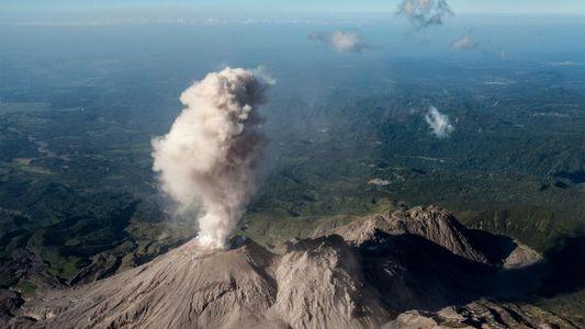 Exploradores estudam poderoso sistema vulcânico na Guatemala