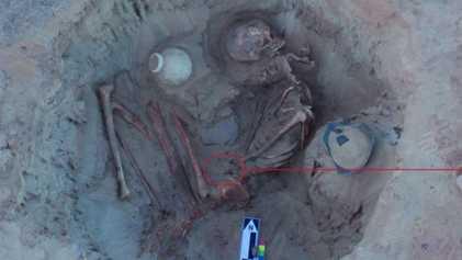 Esta mulher do Antigo Egito pode ter morrido durante o parto
