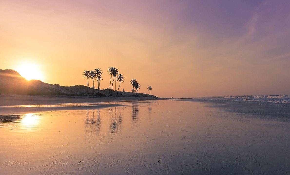 praia-paracuru-ceara-por-do-sol-sua-foto