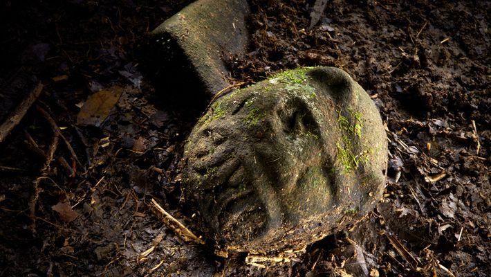 foto de indícios de civilização perdida em Honduras