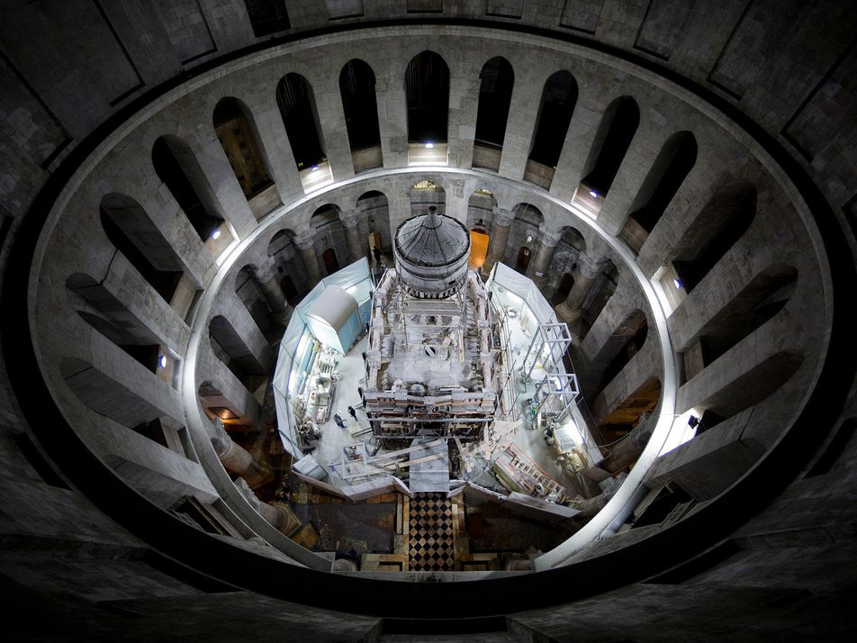 Eu fotografei o túmulo de Jesus