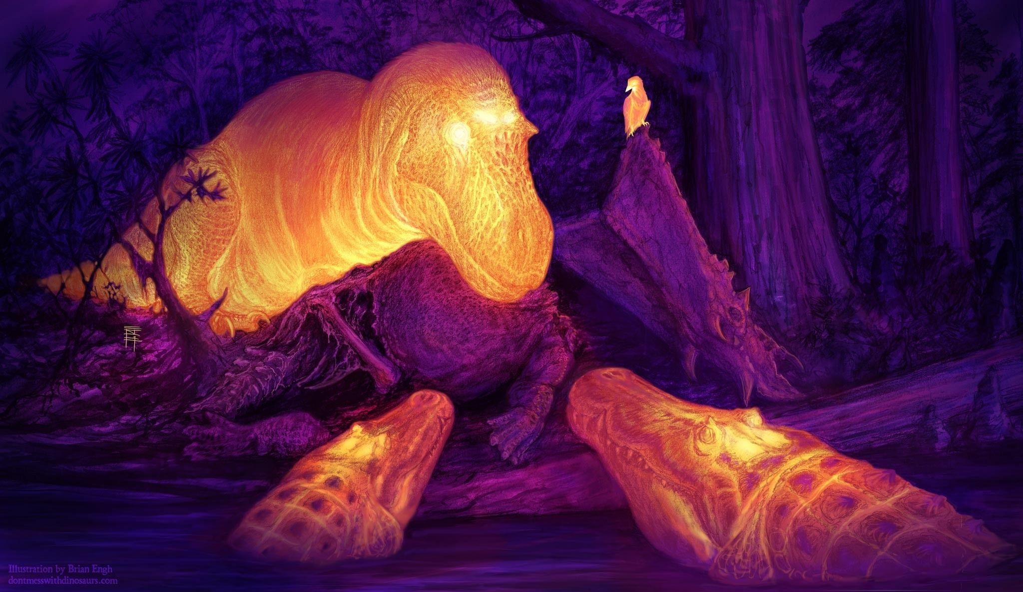 T-Rex desenvolveu 'ar-condicionado' gigante para manter o cérebro refrigerado | National Geographic