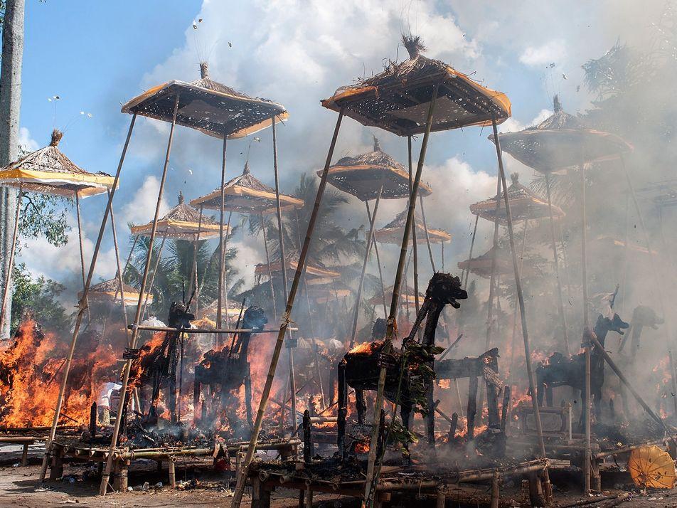 O custo ambiental de cremar os mortos