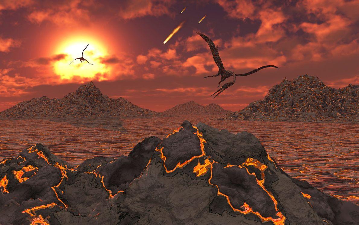 Como o asteroide que extinguiu os dinossauros preparou a Terra para a ascensão da vida moderna
