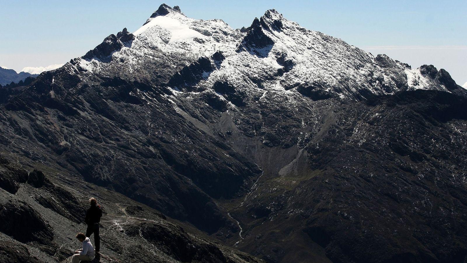 O Pico Humboldt, nos Andes Venezuelanos, abriga a última geleira do país, mas não por muito ...