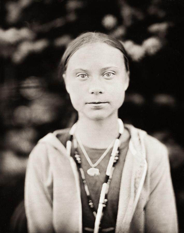 Este retrato foi batizado de Greta.