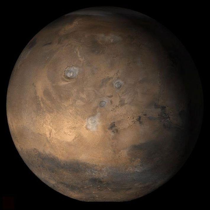 Um novo olhar à química de Marte sugere que micróbios aeróbicos e, em alguns casos, até ...