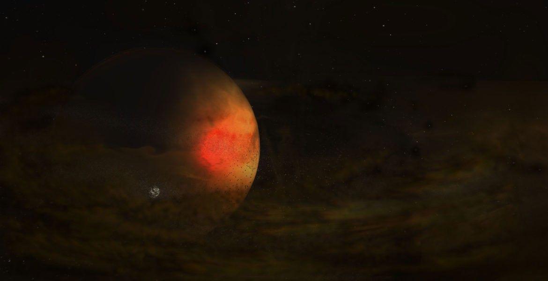 Avistada provável formação de lua alienígena pela primeira vez   National Geographic