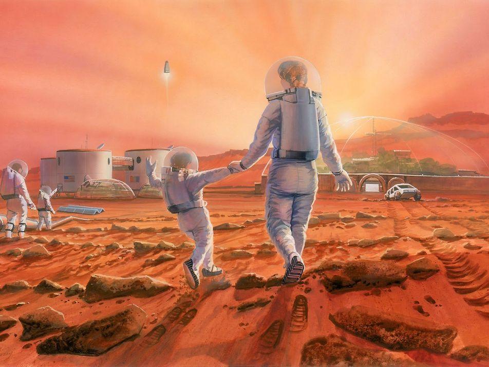 A espécie humana conseguirá se reproduzir em Marte? Pode ser mais difícil do que se imagina