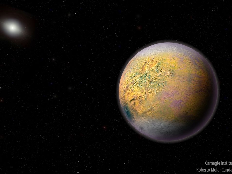 Mais distante que Plutão, corpo de gelo recém-identificado é pista para misterioso Planeta X