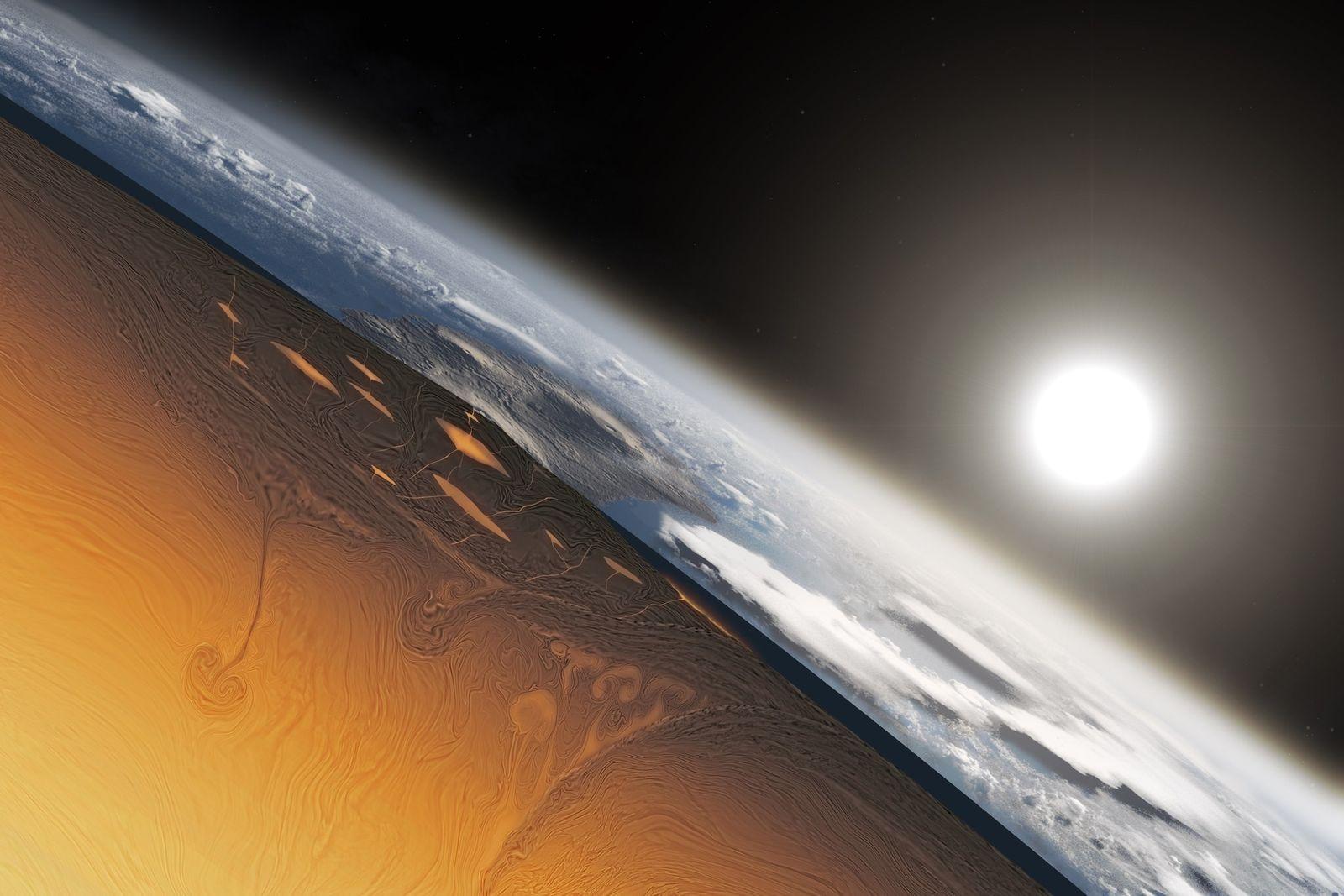 Encontrada na Austrália mais antiga evidência de movimentação de placas tectônicas