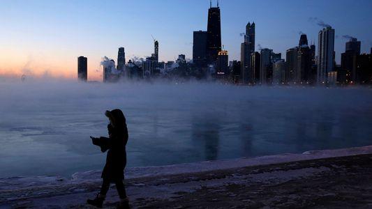 Como o vórtice polar trouxe temperaturas recordes abaixo de zero aos EUA