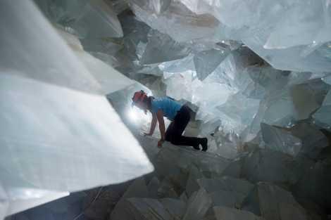 Conheça as origens desses cristais do tamanho de uma pessoa