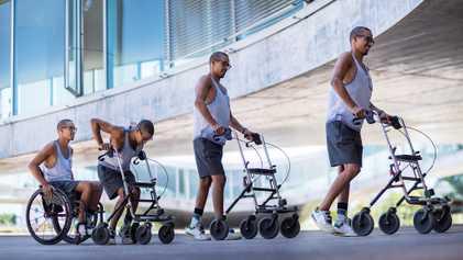 Nova terapia na medula espinhal ajuda pacientes com paralisia a andarem novamente