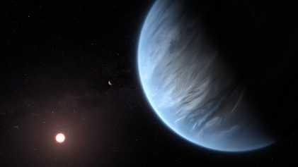 Água encontrada em planeta alienígena com condições para abrigar vida