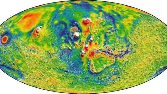 3 coisas legais que aprendemos com o mapa gravitacional de Marte