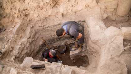 Galeria de fotos: Escavações da cidade dos apóstolos Pedro, Felipe e André