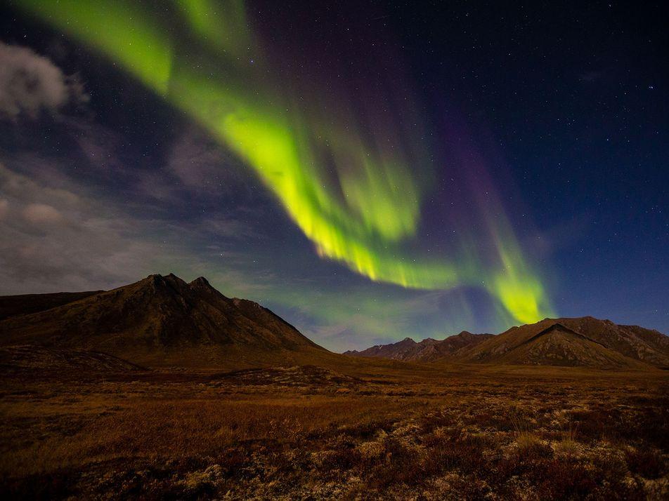 Fotos de auroras boreais pelo mundo
