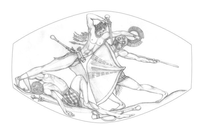 guerreiro-de-grifo-desenho