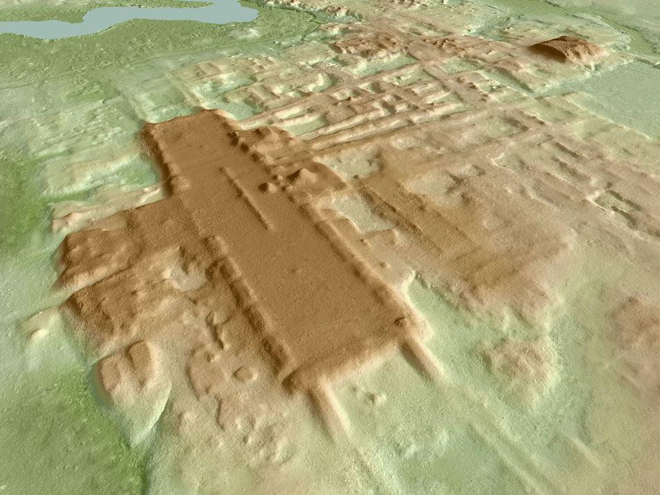 Descoberto gigantesco complexo cerimonial maia de três mil anos